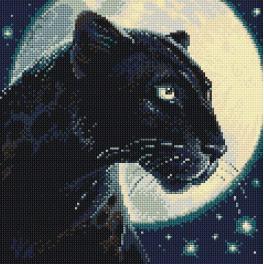 RIO AM0045 Diamond Painting Set - Schwarzer Panther