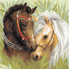 RIO AM0039 Diamond Painting Set - Pferdespaar