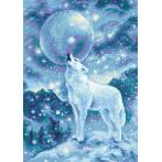 RIO AM0042 Diamond Painting Set - Frostiger Wind