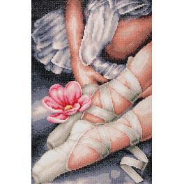 LPN-0188131 Diamond Painting Set - Meine kleinen Ballerinaschuhe