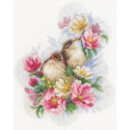 LPN-0185003 Stickpackung - Wächter des Blumenzweigs