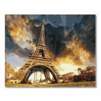 PC4050296 Malen nach Zahlen - Unter dem Himmel von Paris