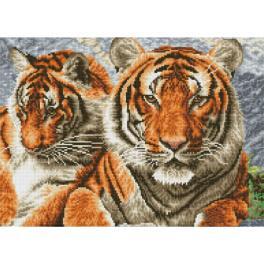 DQ10.003 Diamond Painting Set - Tiger