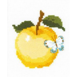 RIO HB174 Stickpackung mit Wollgarn - Apfel