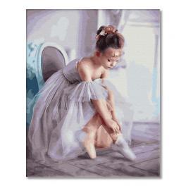GX33063 Malen nach Zahlen - Kleine Ballerina