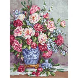 LS B605 Stickpackung - Rosen Ihrer Hoheit
