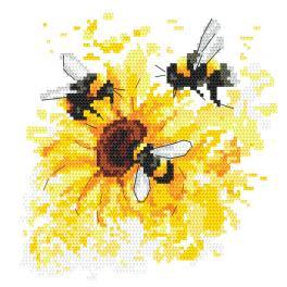 GC 10464 Gedruckte Kreuzstichvorlage - Ein Hauch von Sommer