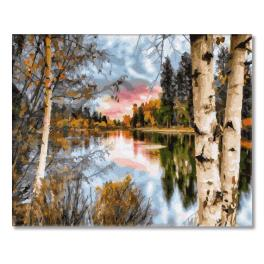 PC4050543 Malen nach Zahlen - Die Stille der Natur