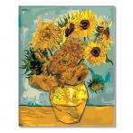 MG098 Malen nach Zahlen - Sonnenblumen - V. van Gogh