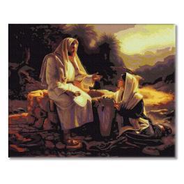 PC4050475 Malen nach Zahlen - Jesus und Samariterin