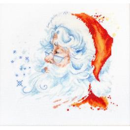 LS B1137 Stickpackung - Weihnachtsmann