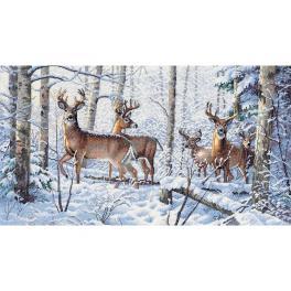 DIM 35130 Stickpackung - Winter im Wald