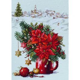 MER K-194 Stickpackung - Frohe Weihnachten