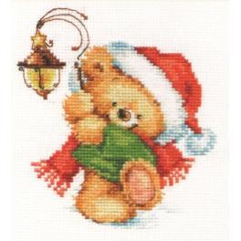 ALI 0-122 Stickpackung - Weihnachtsbärchen